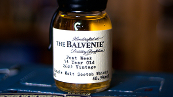 Balvenie Peat Week Aged 14 Year Old - 2003 Vintage Scotch Whisky