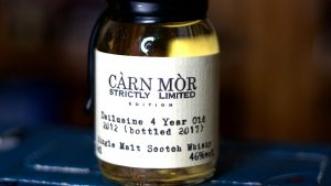 Càrn Mòr Dailuaine 4 Year Old Scotch