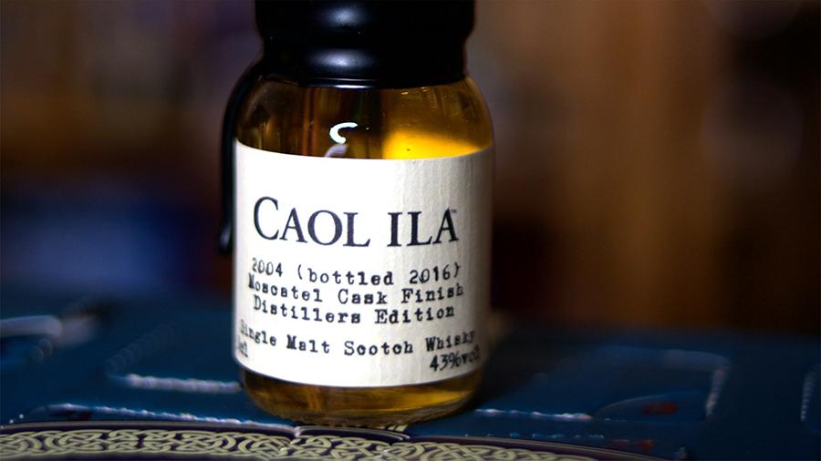 Caol Ila 2004 Moscatel Cask Finish Distillers Edition