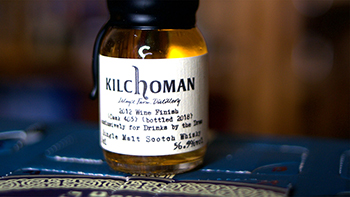 Kilchoman 2012 Wine Finish Cask 405 Bottled 2018