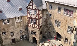 Runkel Castle Inner Court