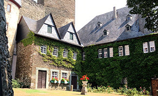 Runkel Castle Outer Court