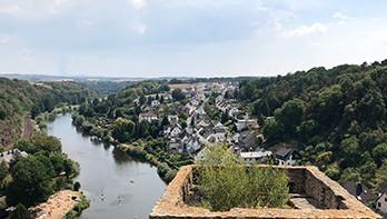 Runkel Castle Scenic View
